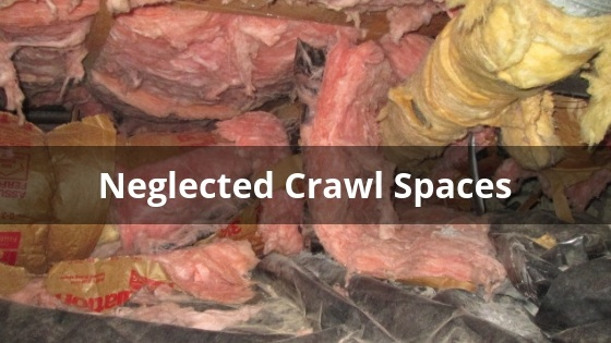 Neglected Crawl Spaces